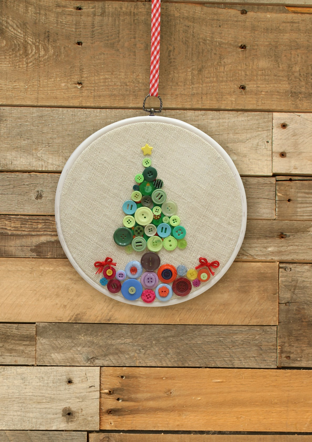 Holiday Button Craft